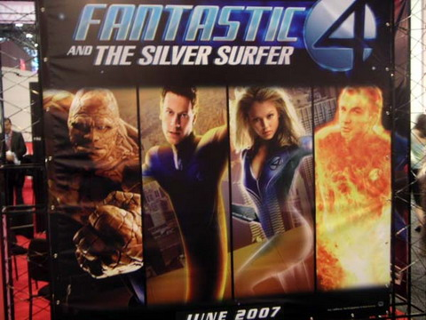 Fantastic Four and the Silver Surfer