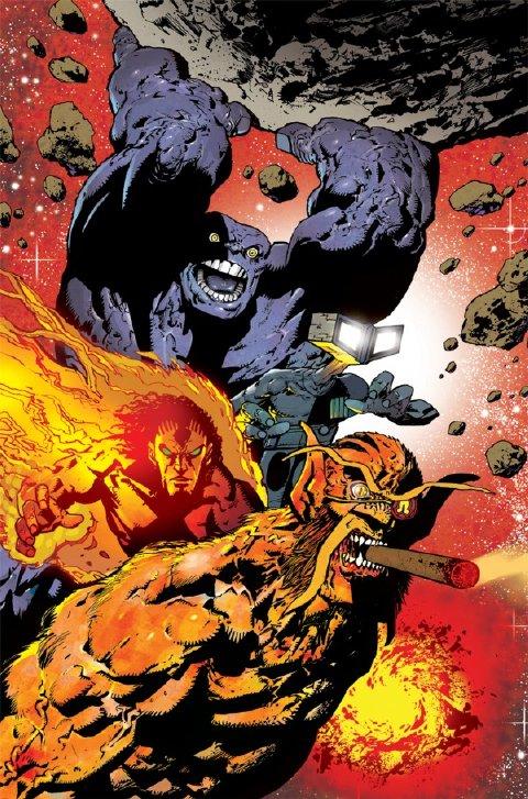 Omega Men #01 por Henry Flint