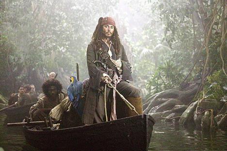 Depp, capitán de cualquier barco pirata