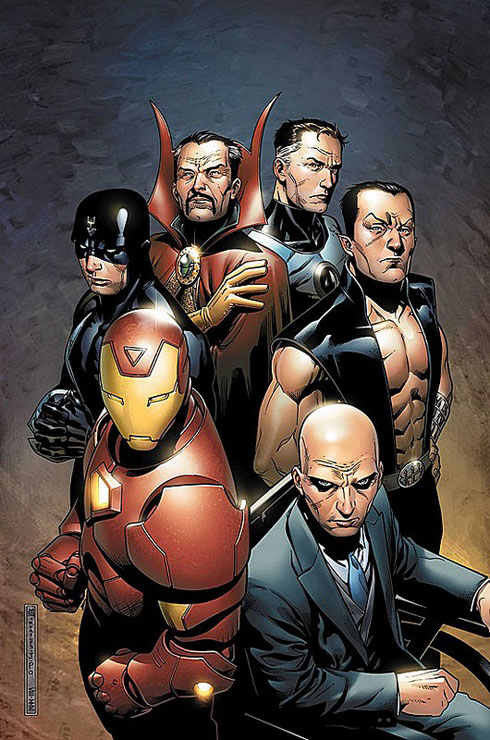 New Avengers: Illuminatti. Jimmy Cheung