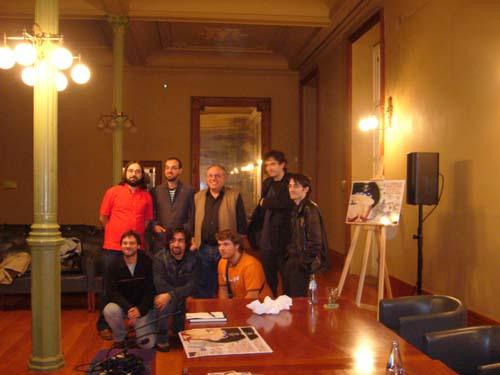 Rafa, Julio, Carlos, Luis, Kiko, el replicante, Javi, Tirso