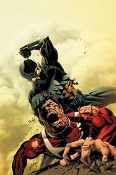 Portada de ES:Nighthawk Vs. Hyperion/Paul Gulacy/Marvel