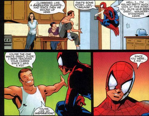 Extracto del Spider-Man/Gen 13/ Start Immonen/ Marvel