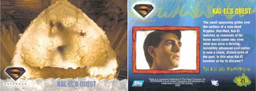 Super-Man Returns Trading Cards/ Topp