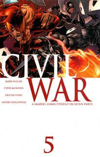 Marvel Civil War 6598