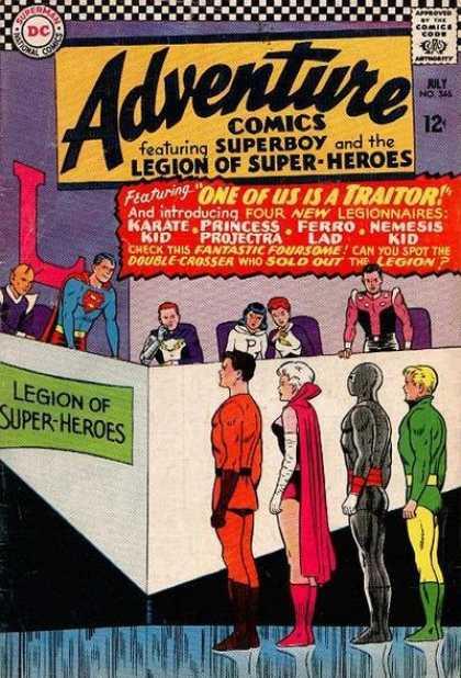 Adventure Comics #346. Primer trabajo de Shooter