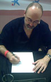 Pasqual Ferry, en la sesión de firmas