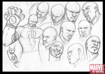 Gaunlet, nuevo personaje de Avengers:The initiative