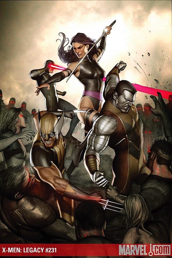NECROSHA - PORTADA DEL X-MEN:LEGACY #231