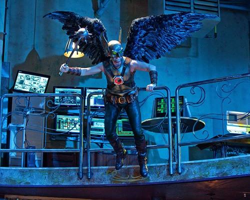 Hawkman y el problema de la perspectiva de la barandilla