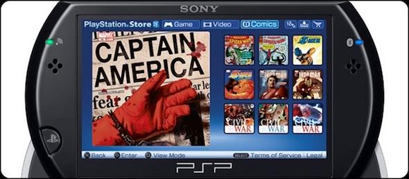 DIGITAL COMICS EN TU PSP