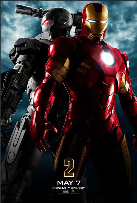 "IRON MAN Y WAR MACHINE EN ""IRON MAN 2"""
