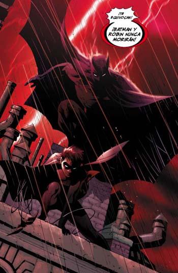 Primera viñeta de Batman R.I.P. , por si alguien tiene dudas de de qué va esto…