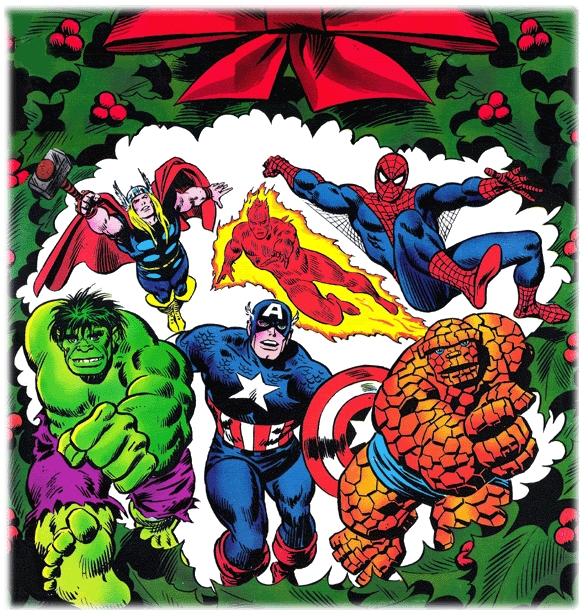 Navidades con los Superhéroes - Zona Negativa