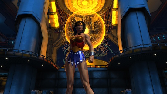 WONDER WOMAN EN DCU ONLINE