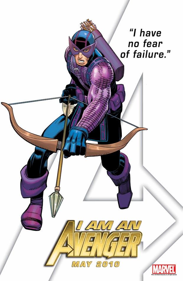 HAWKEYE IS BACK! Bueno, Clint como Hawkeye...porque es Clint, right?