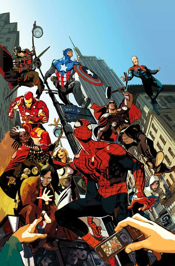 Portada de AGE OF HEROES #1/ Marvel