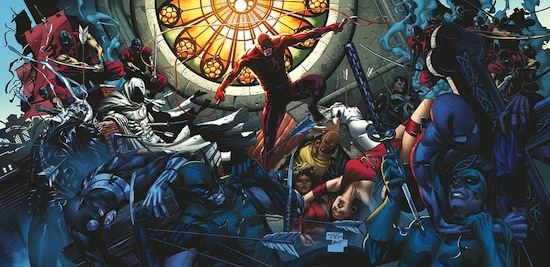 Shadowland / Billy Tan / Marvel