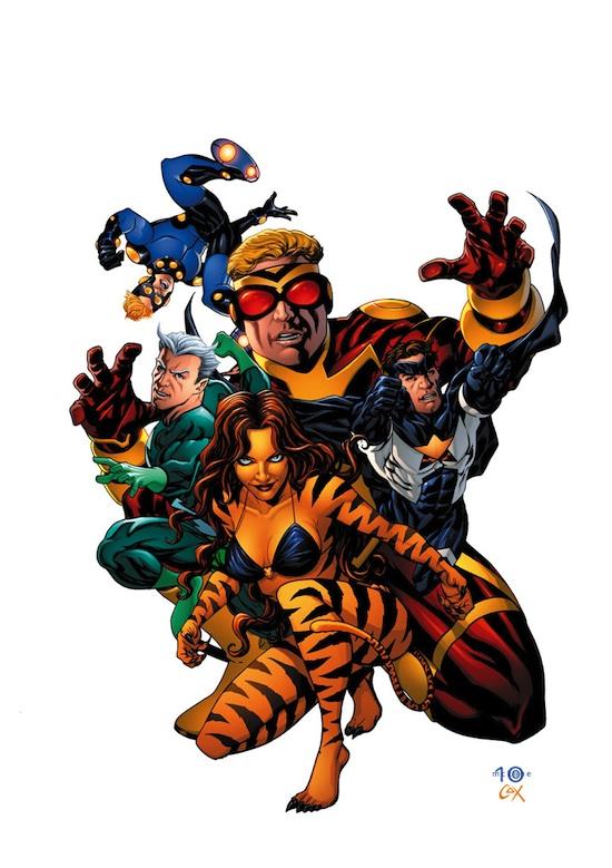 Avengers Academy Teachers roster / McKone / Marvel
