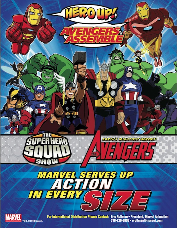 Superheroe Squad Show & Avengers :Earth's Mightest Heroes cast