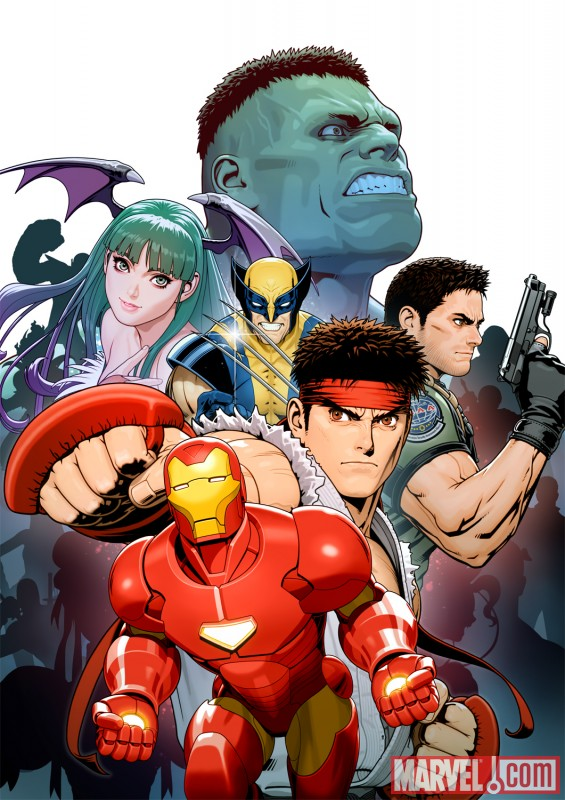 Arte promocional Marvel Vs Capcom 3
