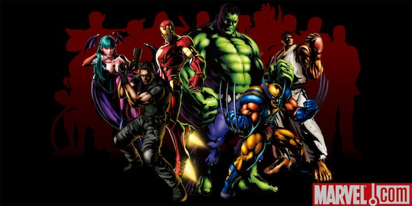 Arte promocional de Marvel Vs Capcom 3