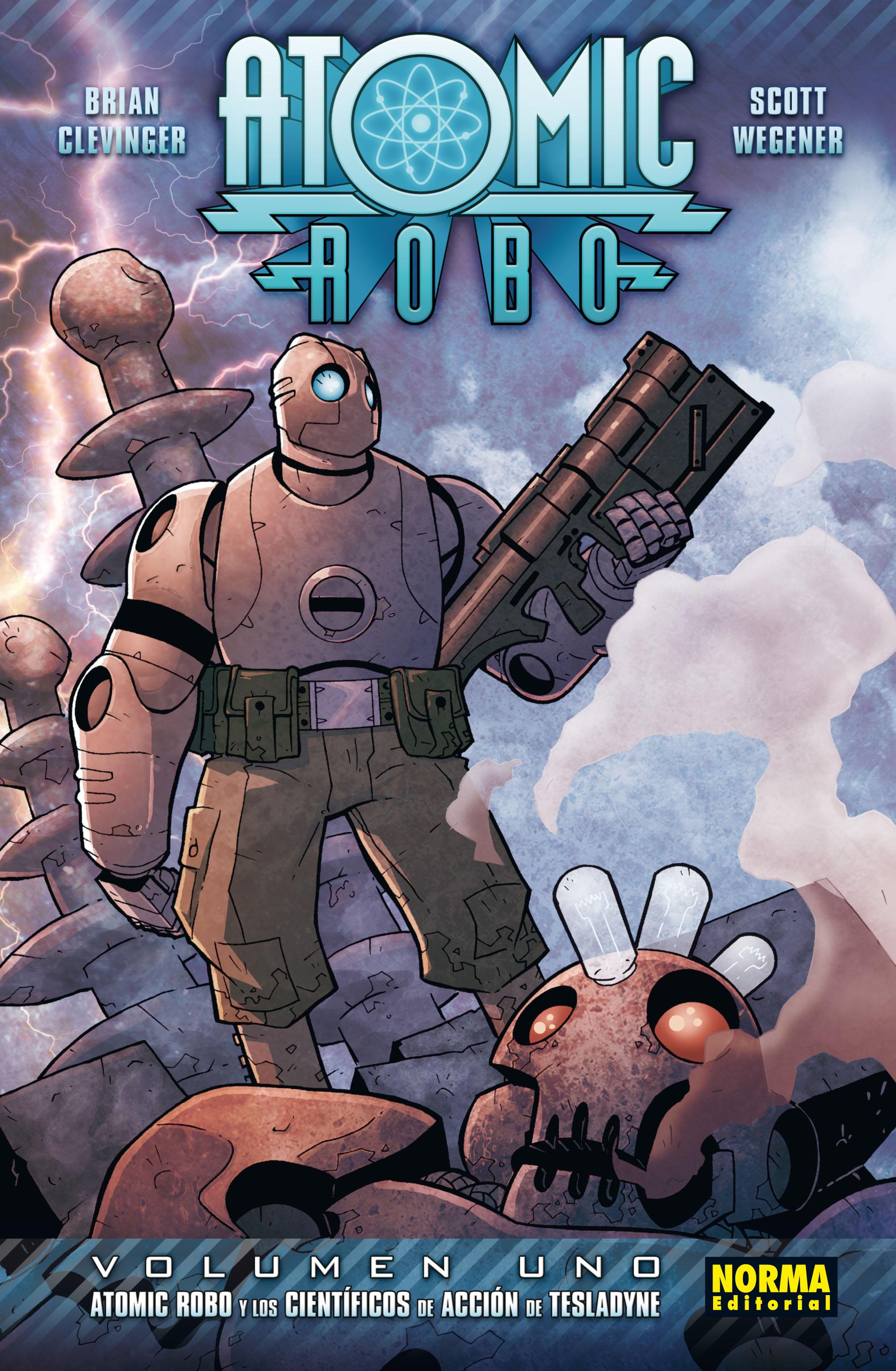 Cubierta Atomic Robo 1