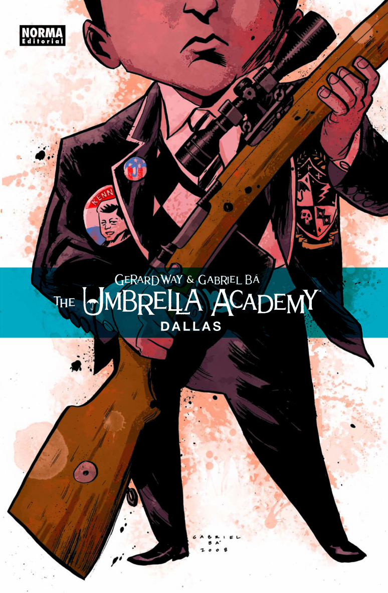Cubierta Umbrella Academy: Dallas