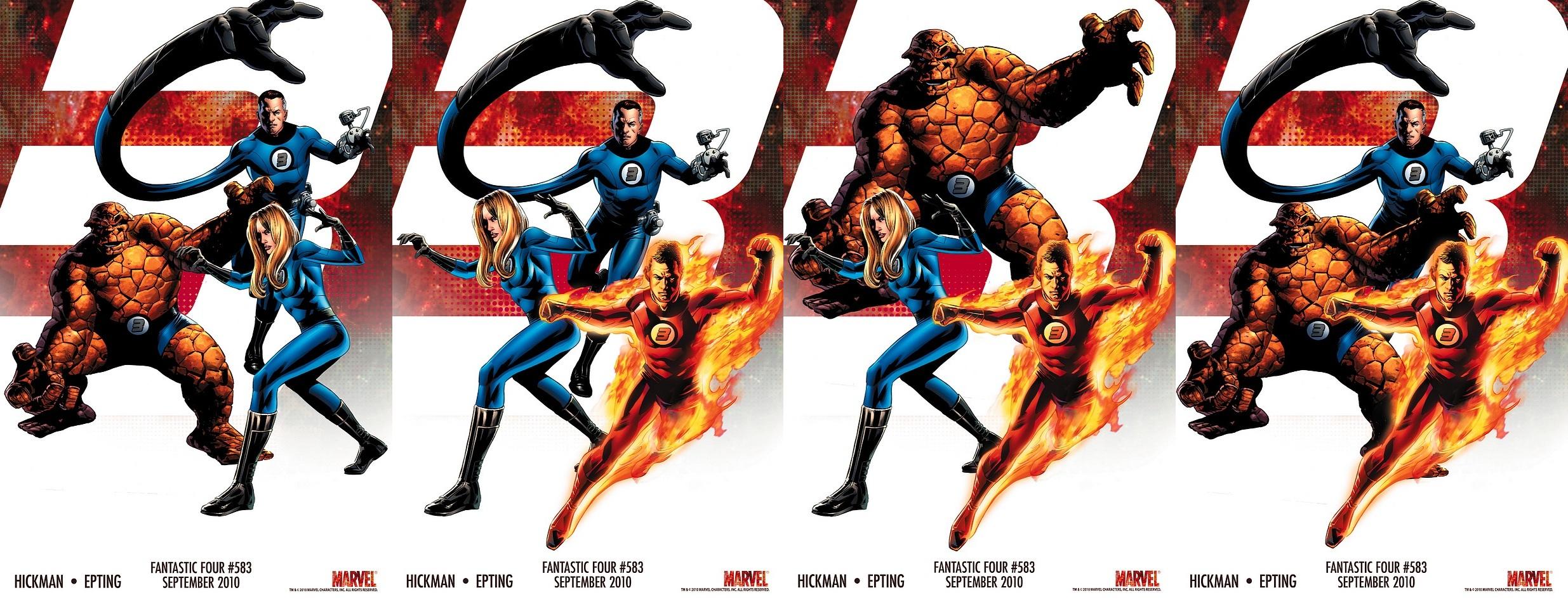 Los Cuatro Fantasticos Logo Cuatro Fantásticos y Los