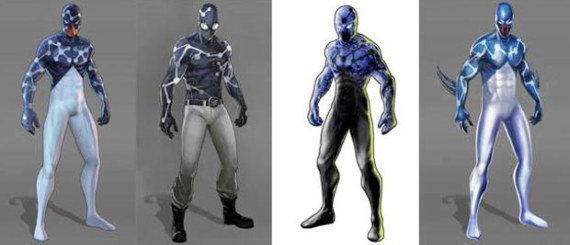 Trajes alternativos 'Captain universe' para Spider-Man:Shattered Dimensions