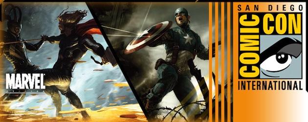 SDCC 2010: 'Concept' posters de Thor y el Capi