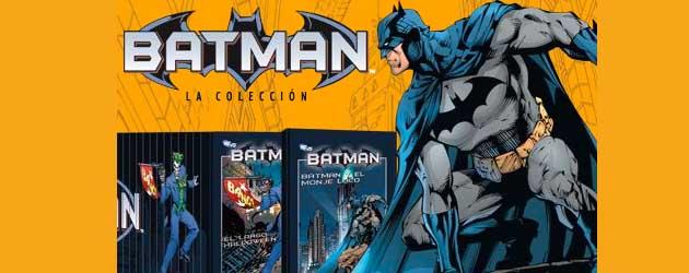 Contenido completo del coleccionable de Batman