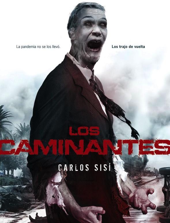 Portada de la versión de iPad de 'Los Caminantes'.