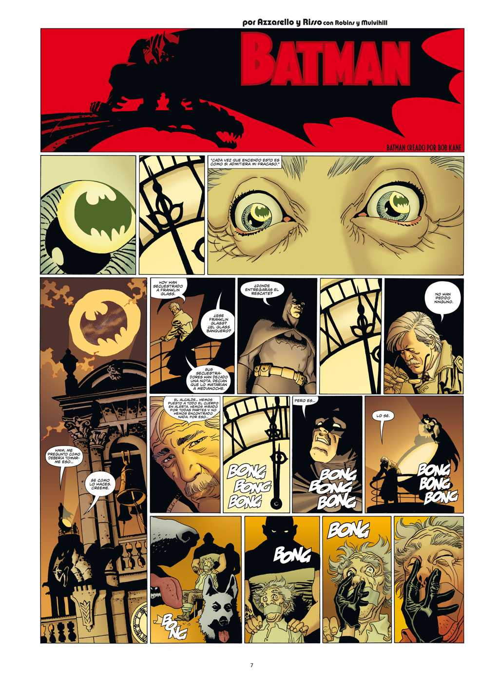 Wednesday Comics de Brian Azzarello y Eduardo Risso