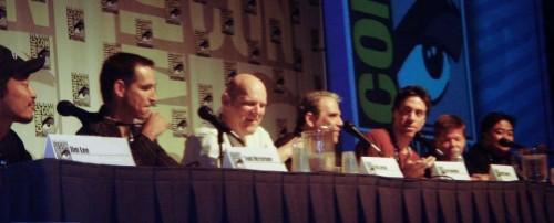 Los fundadores de Imagen reunidos con motivos del 15 aniversario de la editorial (2007)