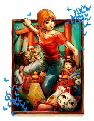 Ilustración Satoshi Kon