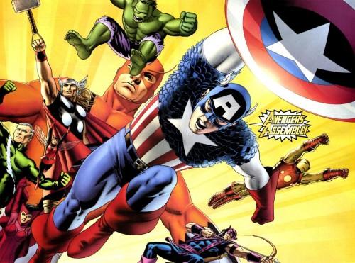 Azul Avengers Assemble Chicos Fiambrera