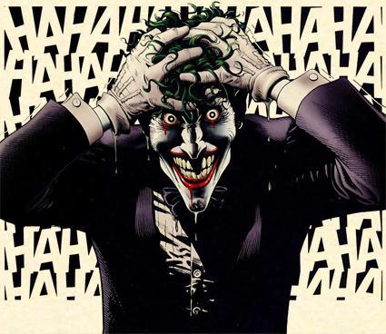 Mítica representación del Joker de Brian Bolland