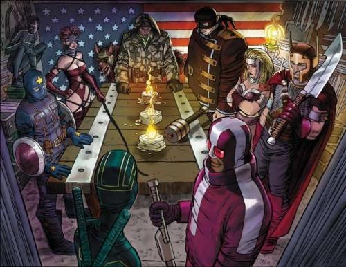 La nueva visión de los Los Vengadores made in Mark Millar y John Romita Jr.