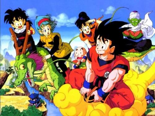 Son Goku y sus amigos