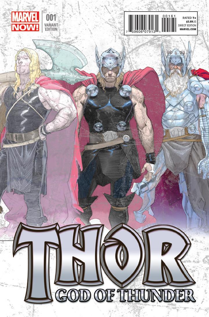 Explorando Marvel NOW! Thor: God of Thunder | Zona Negativa  Thor