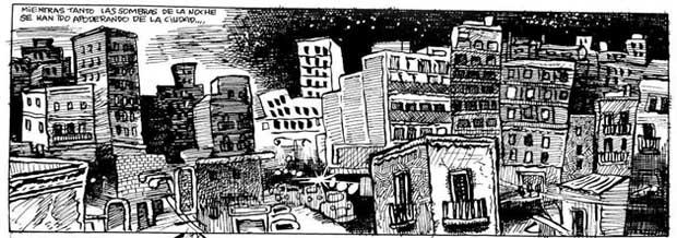 Unas bonitas vistas de la ciudad con suicida incluido.