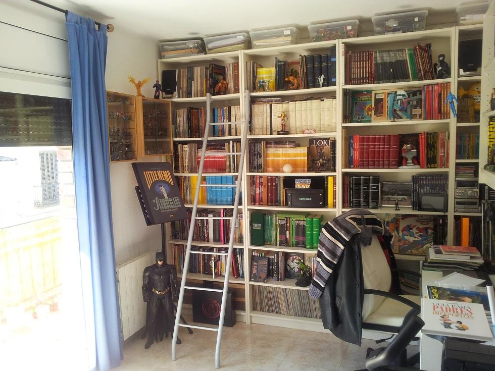 carlos sol nos da envidia a todos con sus magnficas librerias sin duda si tuviera que elegir una para mi este es el modelo idea