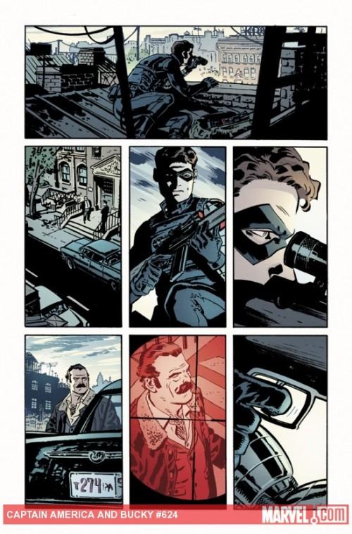 Los días del Soldado de Invierno. Fuente: Marvel Comics