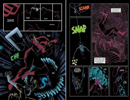 Muestra del arte de Paolo Rivera en Daredevil