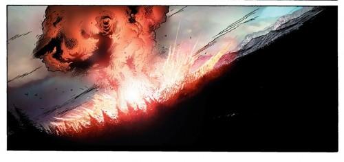 En Ultimate Galactus todo comienza de forma explosiva