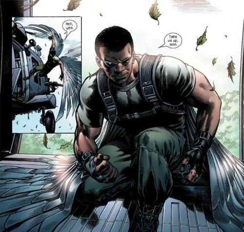 El Halcón uno de los personajes destacados en Ultimate Galactus
