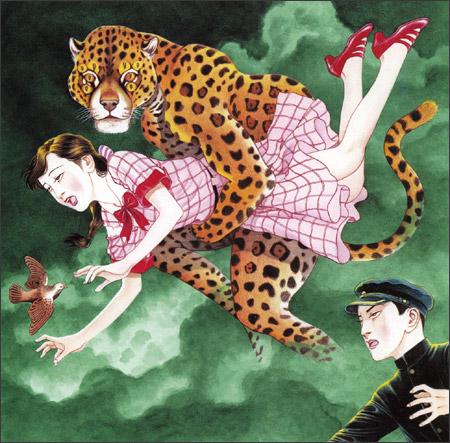 Hipnótica ilustración de Suehiro Maruo