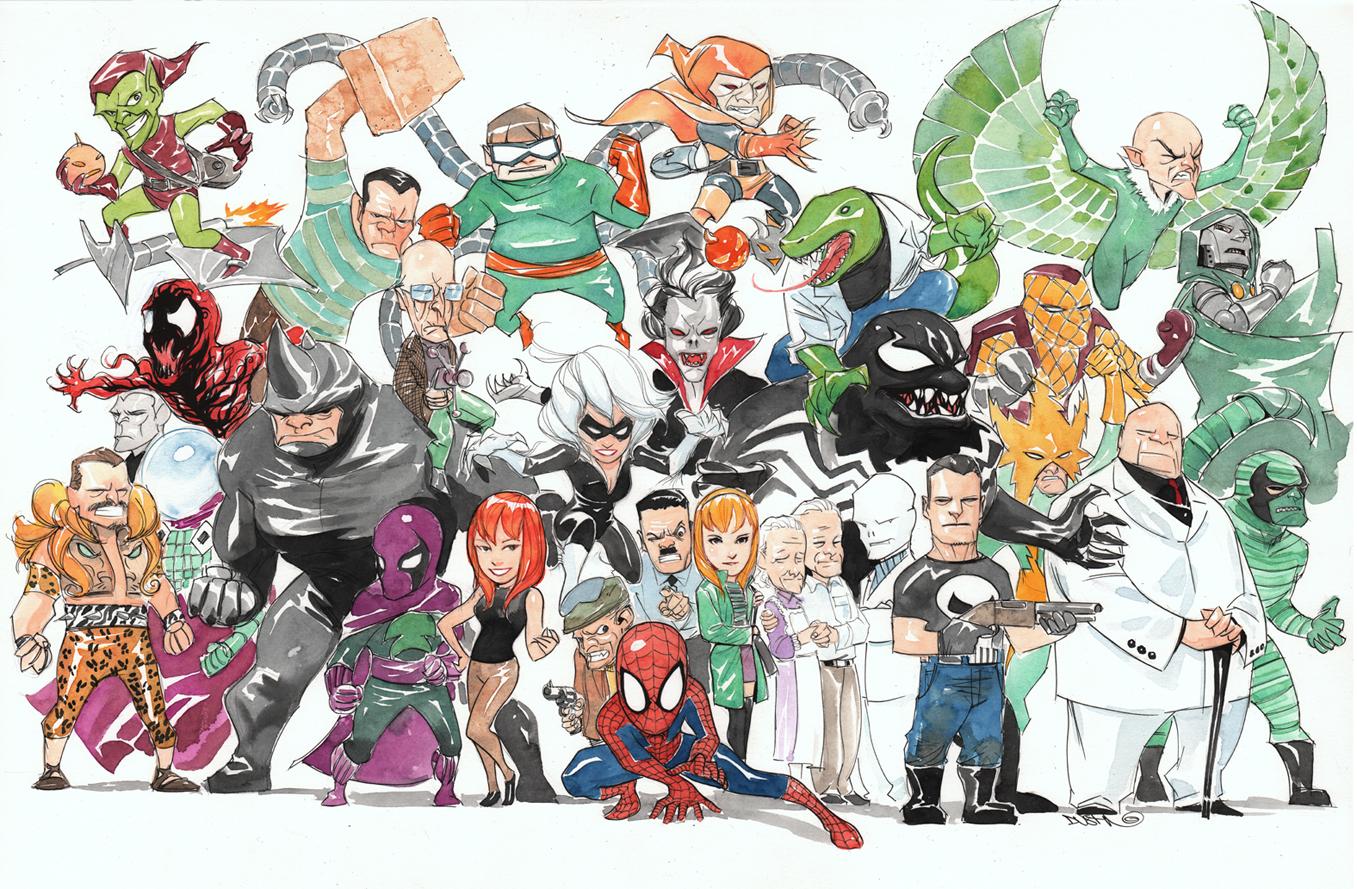 Marvel NOW! Grandes Villanos de Spider-Man | Zona Negativa
