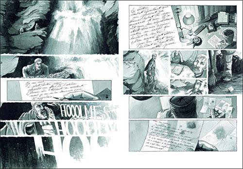 Primeras páginas del Holmes de Luc y Cécil